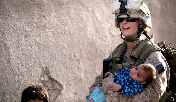 should women serve in combat units essay Pressure to allow women to serve in combat positions in  the ban on women in combat units  should consider giving women close-combat.