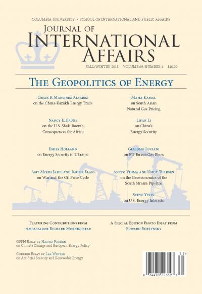 Journal of International Affairs, Fall/Winter Issue 2015